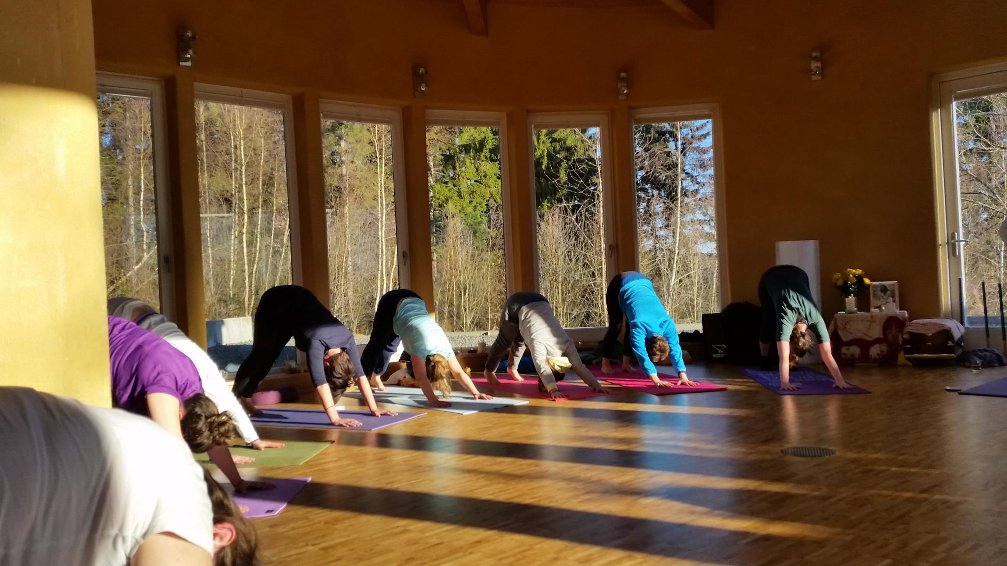 zomer yoga